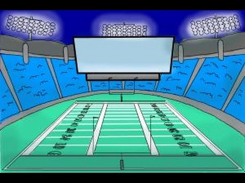 480x360 How To Draw A Football Stadium