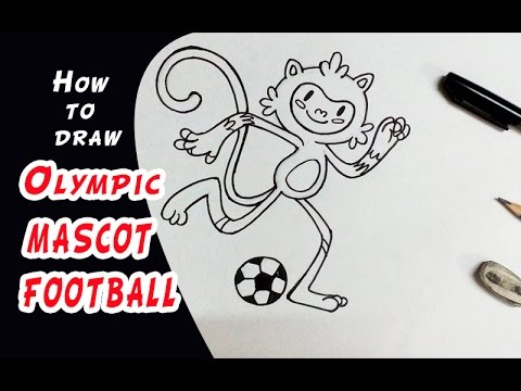 480x360 Rio 2016 Olympic Games How To Draw Mascot Football