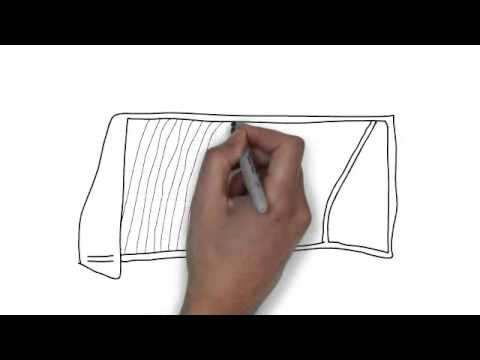 480x360 How To Draw Football Goal