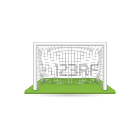 450x450 Football Goal Post Icon In Doodle Sketch Lines. Sport Ball Soccer