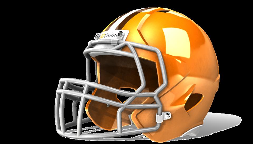 960x547 Football Helmet 3d Cad Model Library Grabcad
