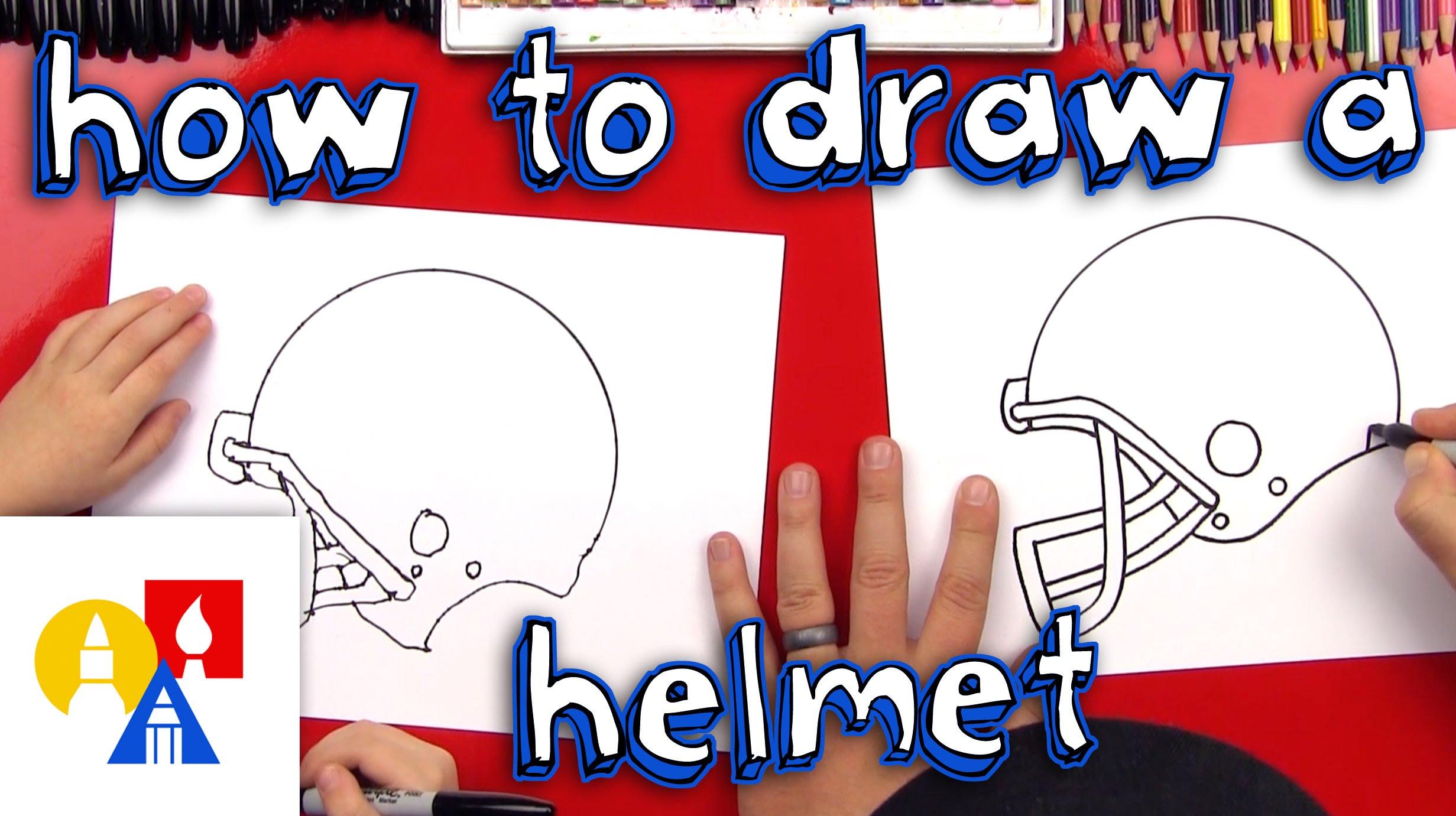 2463x1381 How To Draw A Football Helmet