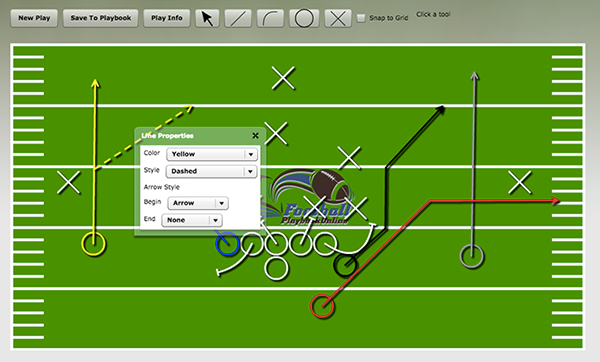 600x362 Football Playbook Online