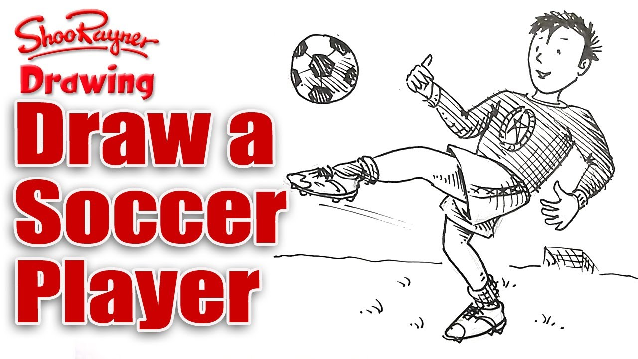 1280x720 How To Draw A Soccer Player