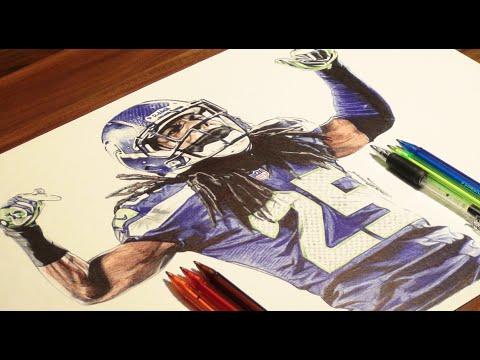 480x360 Richard Sherman Drawing