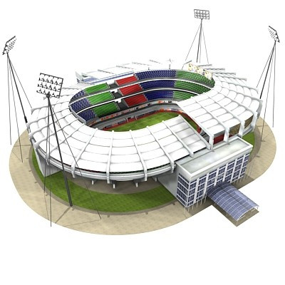 400x400 Build Your Own Soccer Stadium Model