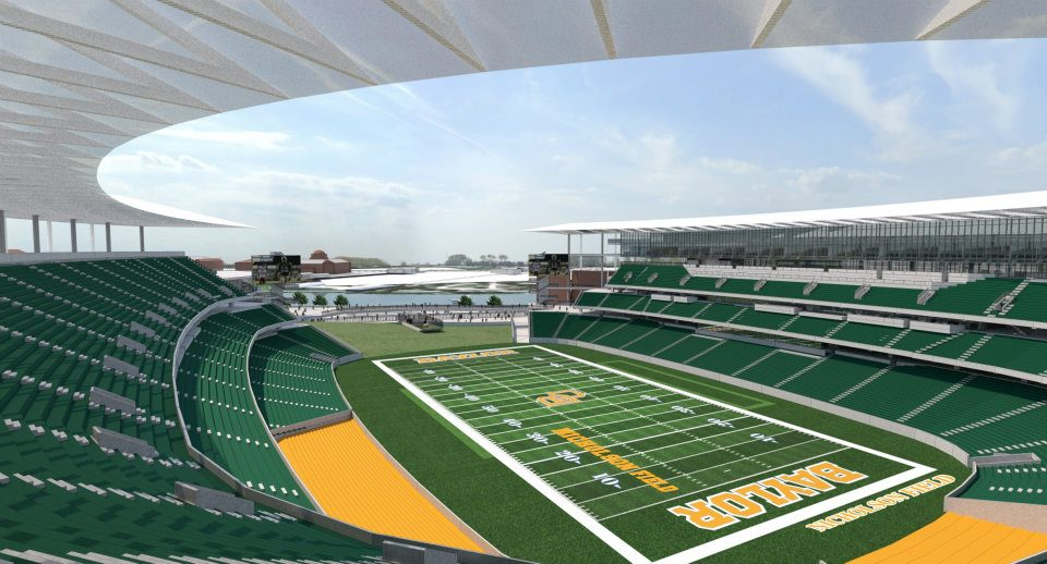 960x518 New Baylor University Football Stadium Drawing