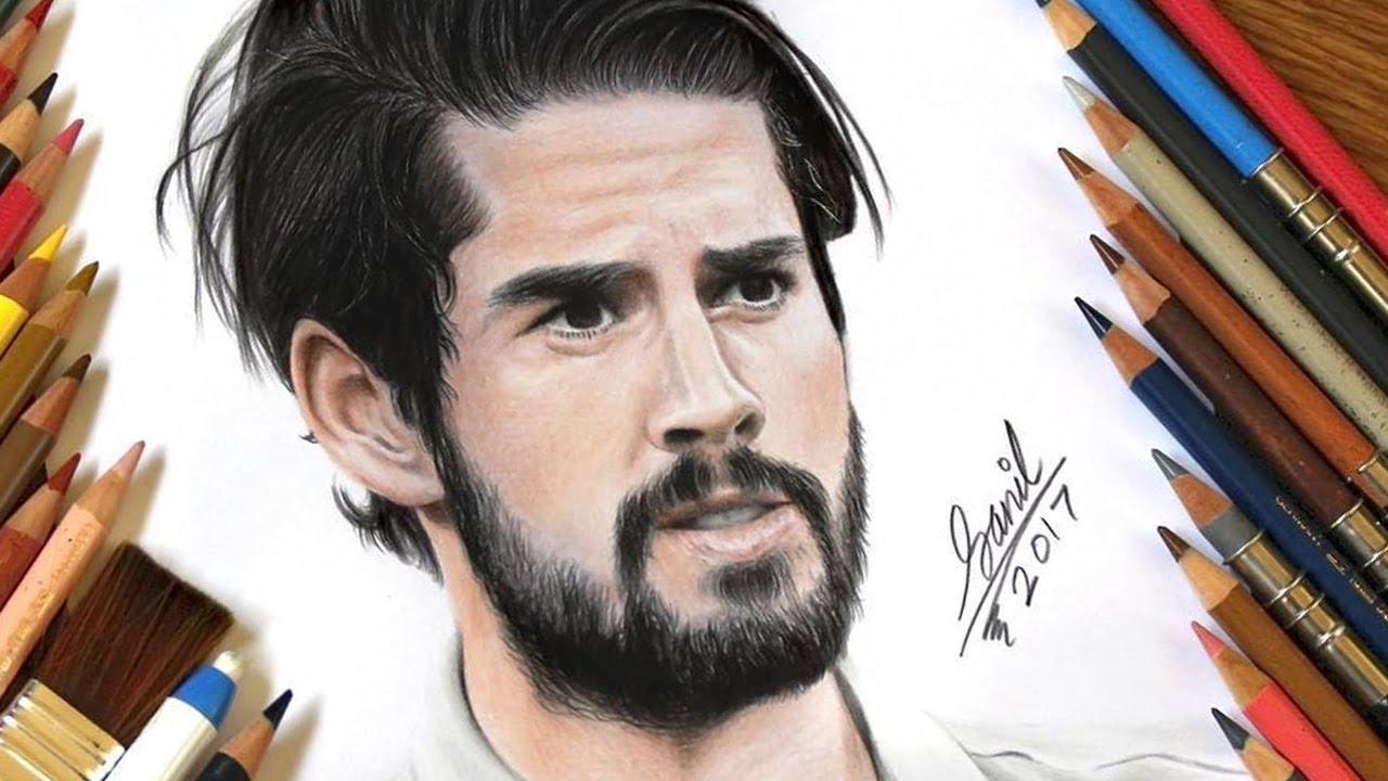 1280x720 Footballer Drawings Griezmann, Bale, Dybala