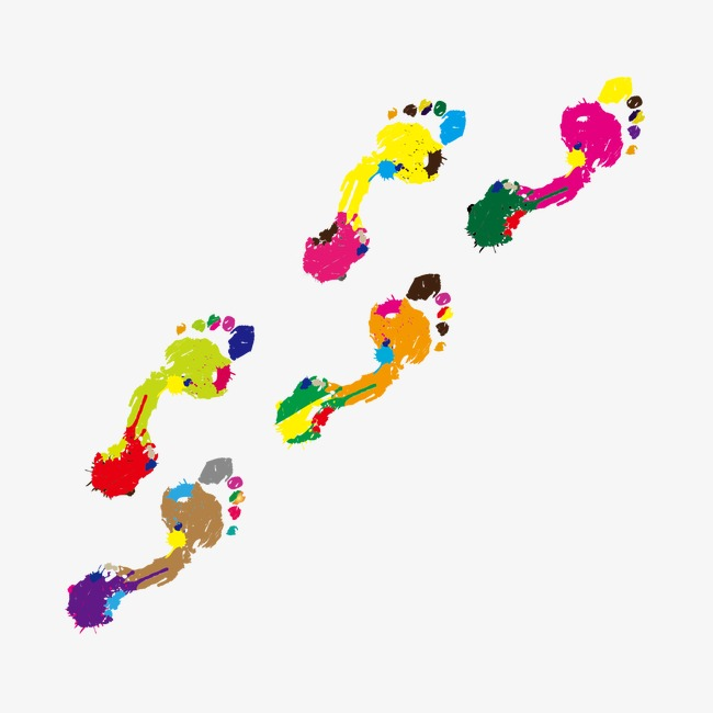 650x650 Drawing Footprints, Footprint, Footprints Vector, Watercolor Png