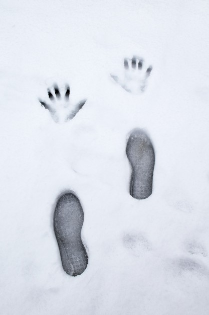 417x626 Human Footprints Outline Icons Free Download