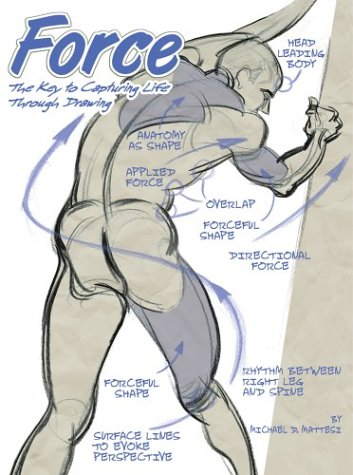 353x475 Force The Key To Capturing Life Through Drawing By Michael D. Mattesi