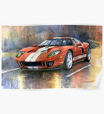 210x230 Ford Gt Drawing Posters Redbubble