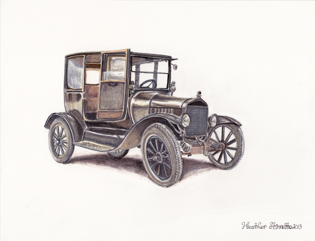 1017x779 Ford Fine Art, Prints, Paintings, And Drawings By Heather Stinnett