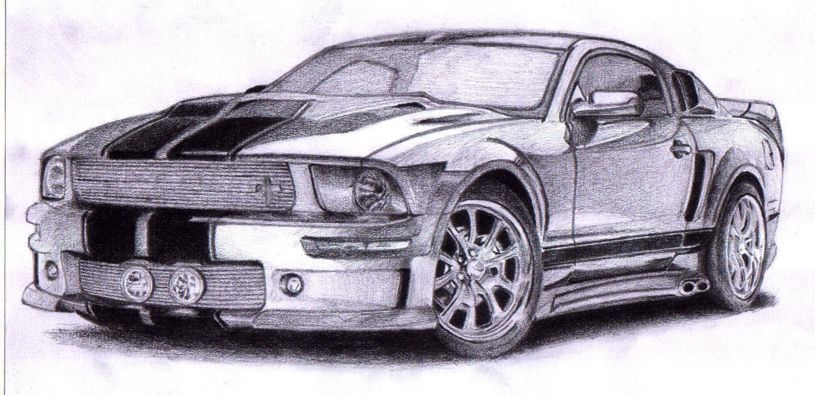 Ford Mustang Drawing At Getdrawings Com Free For Personal Use Ford