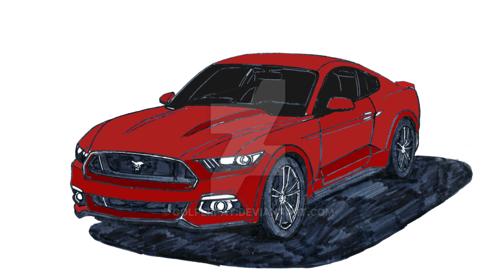1024x576 2015 Ford Mustang Gt