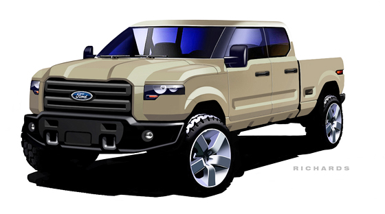 560x312 2015 Ford Atlas Concept Takes Shape 2015 Ford Cars
