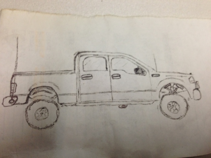 700x525 Draw Your Truck!