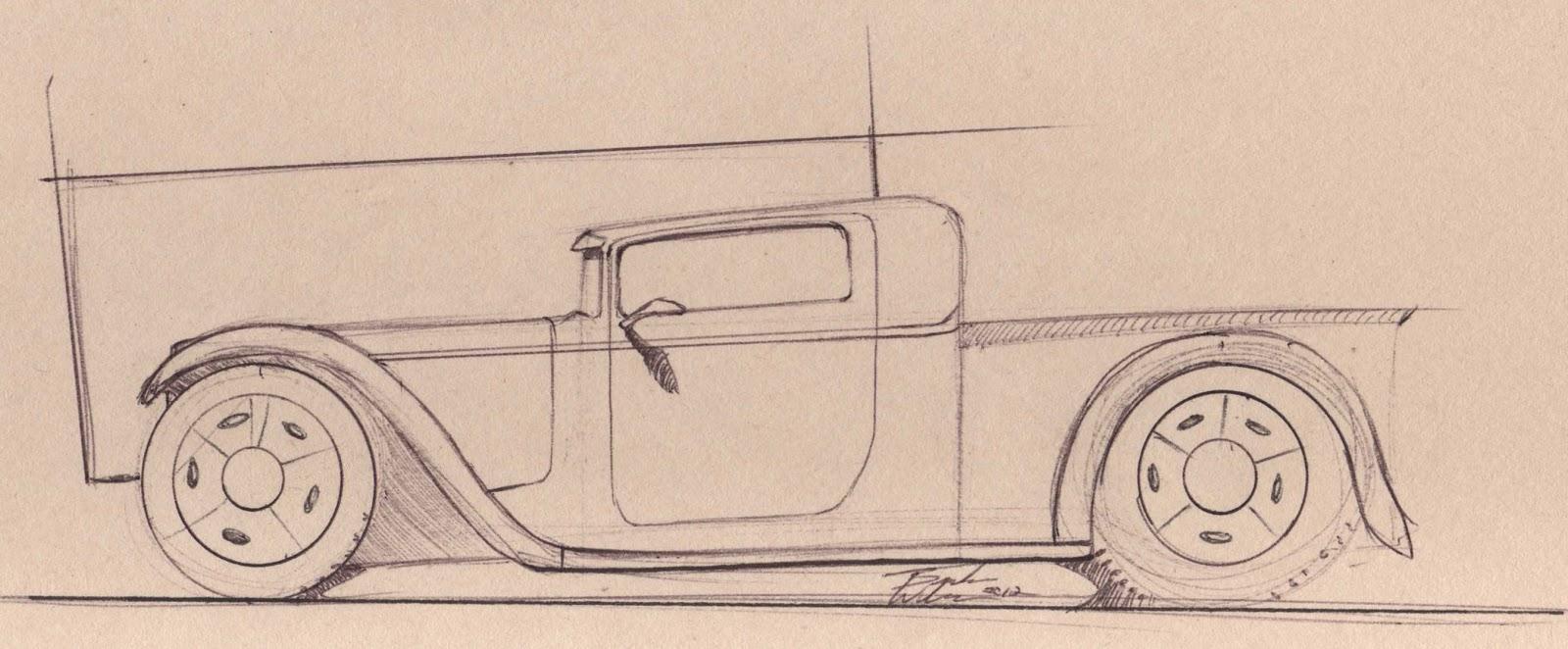 1600x662 Wilson Design 1932 Ford Truck