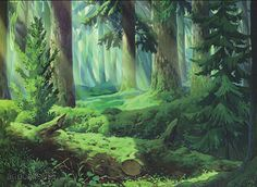 236x172 A Forest Background For A Project I'M Working On Drawing