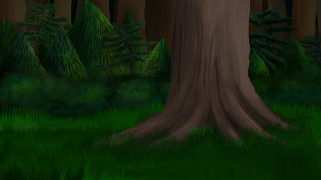 1024x576 Forest Background By Squigmunks