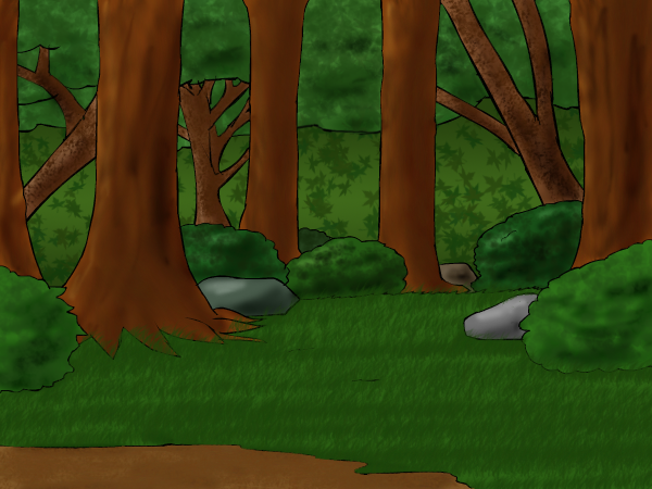600x450 Forest Background By Mythical Human