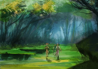 320x226 How To Draw Forest Landscape Background For Storyboard Or Comics