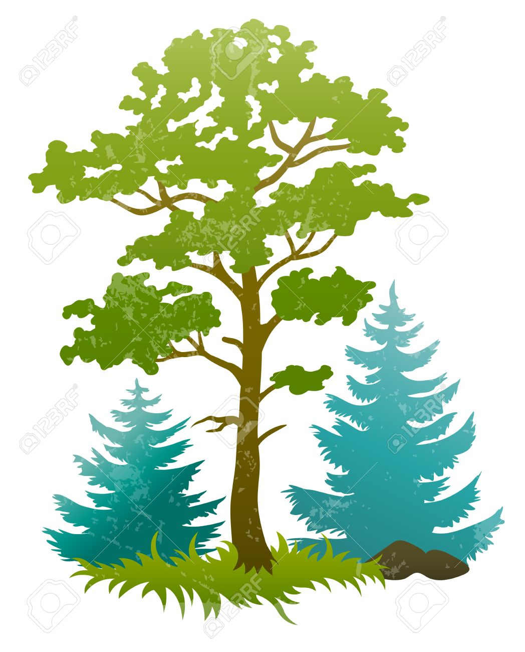 Forest Tree Drawing at GetDrawings.com | Free for personal use ...