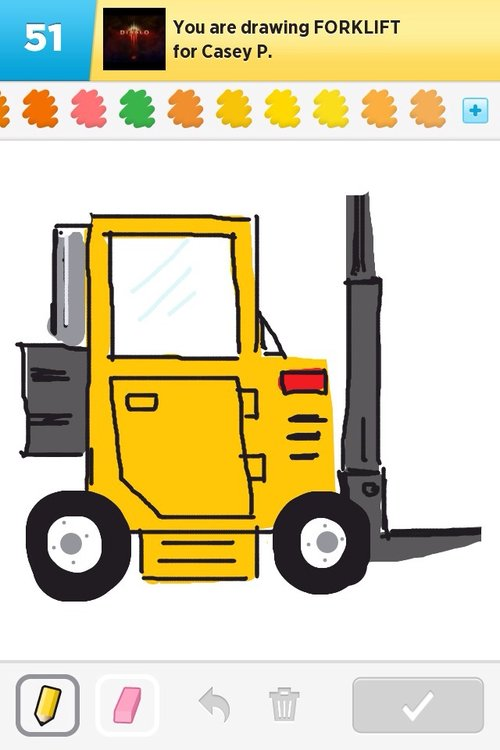 500x750 Forklift Drawings