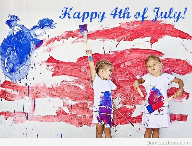 640x489 Kids Drawing Happy 4th Of July