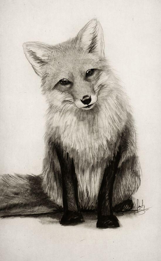 550x890 Fox Say What! Art Print