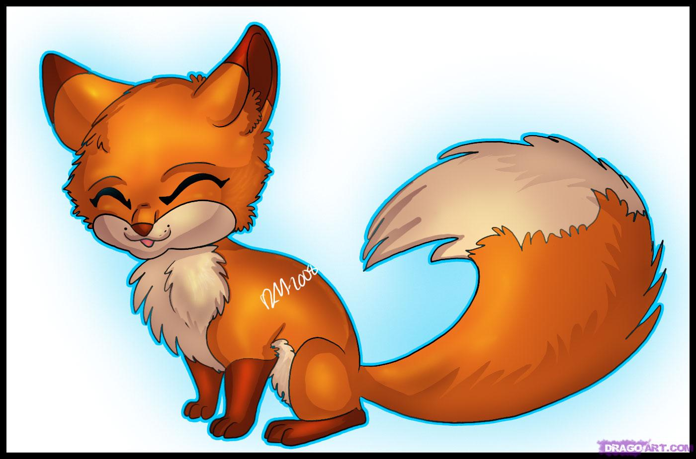 1400x924 Learn How To Draw An Anime Fox, Anime Animals, Anime, Draw