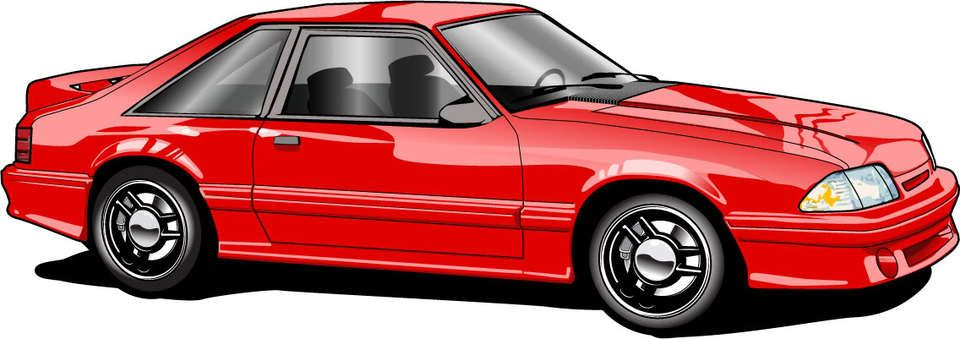 960x339 Fox Body Mustang Drawing Pictures To Pin