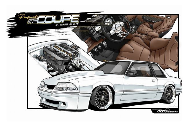 650x433 This 1989 Mustang Fox Coupe Is Getting The Redo It Deserves