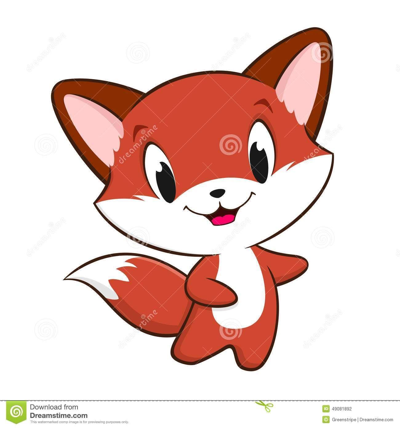 1300x1390 Cartoon Baby Fox Cereal Packaing Rock Painting