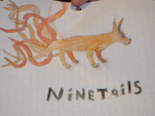 640x480 Nine Tailed Demon Fox Images Nine Tailed Fox Demon Drawing