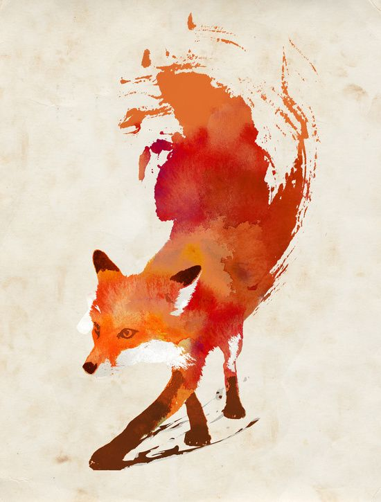550x725 Fox Wallpaper Hd Drawing