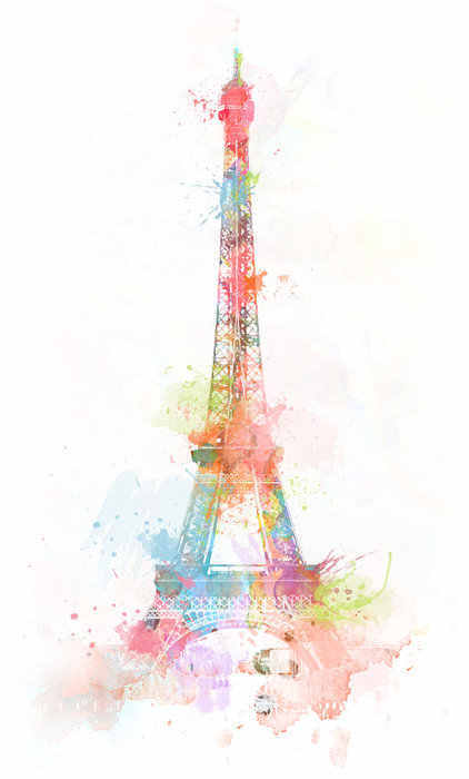 422x700 Drawings Of Towers Images Of Drawing Eiffel Tower France