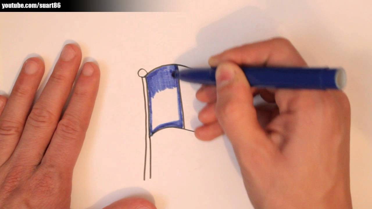 1280x720 How To Draw A French Flag