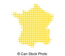 224x194 Map Of France With Flag On Wooden Background (3d Render) Stock