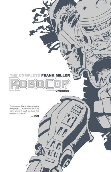 388x597 Complete Frank Miller Robocop Omnibus Forbidden Planet