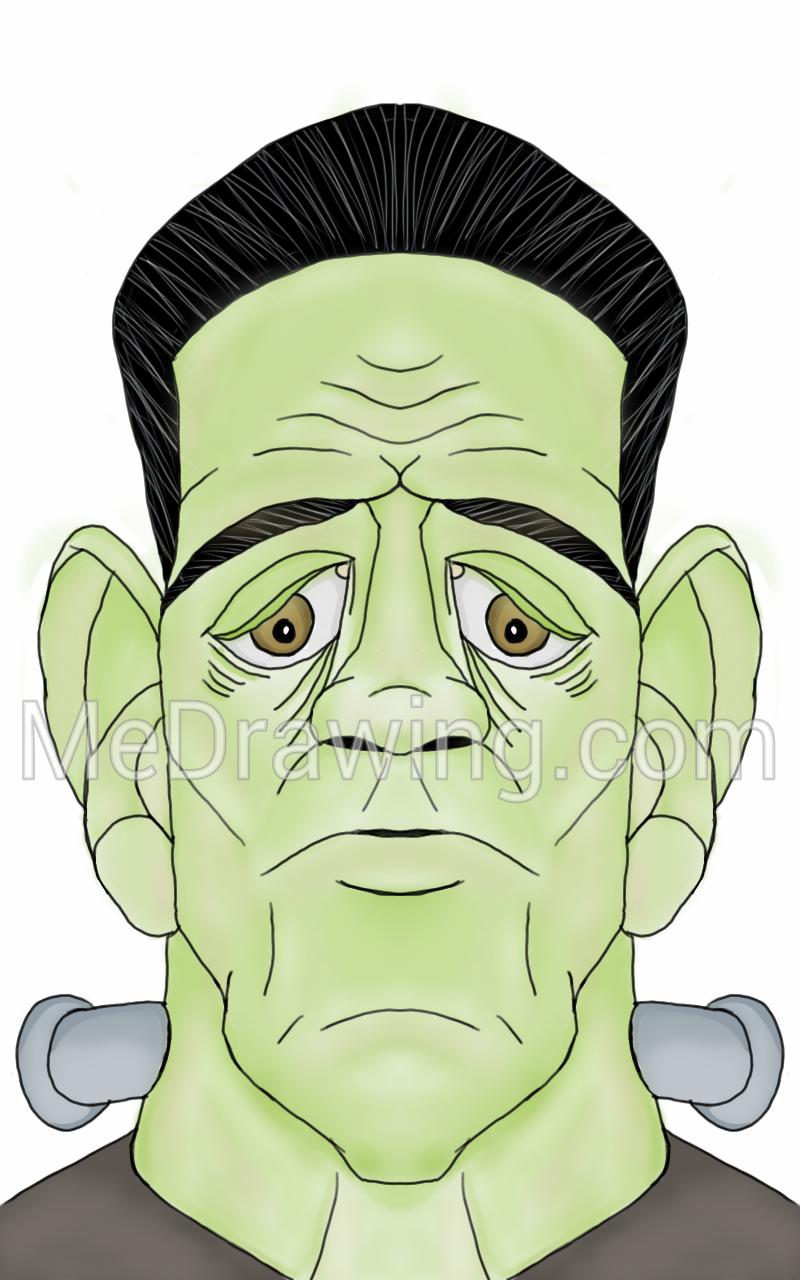 Frankenstein Drawing Cartoon At GetDrawings