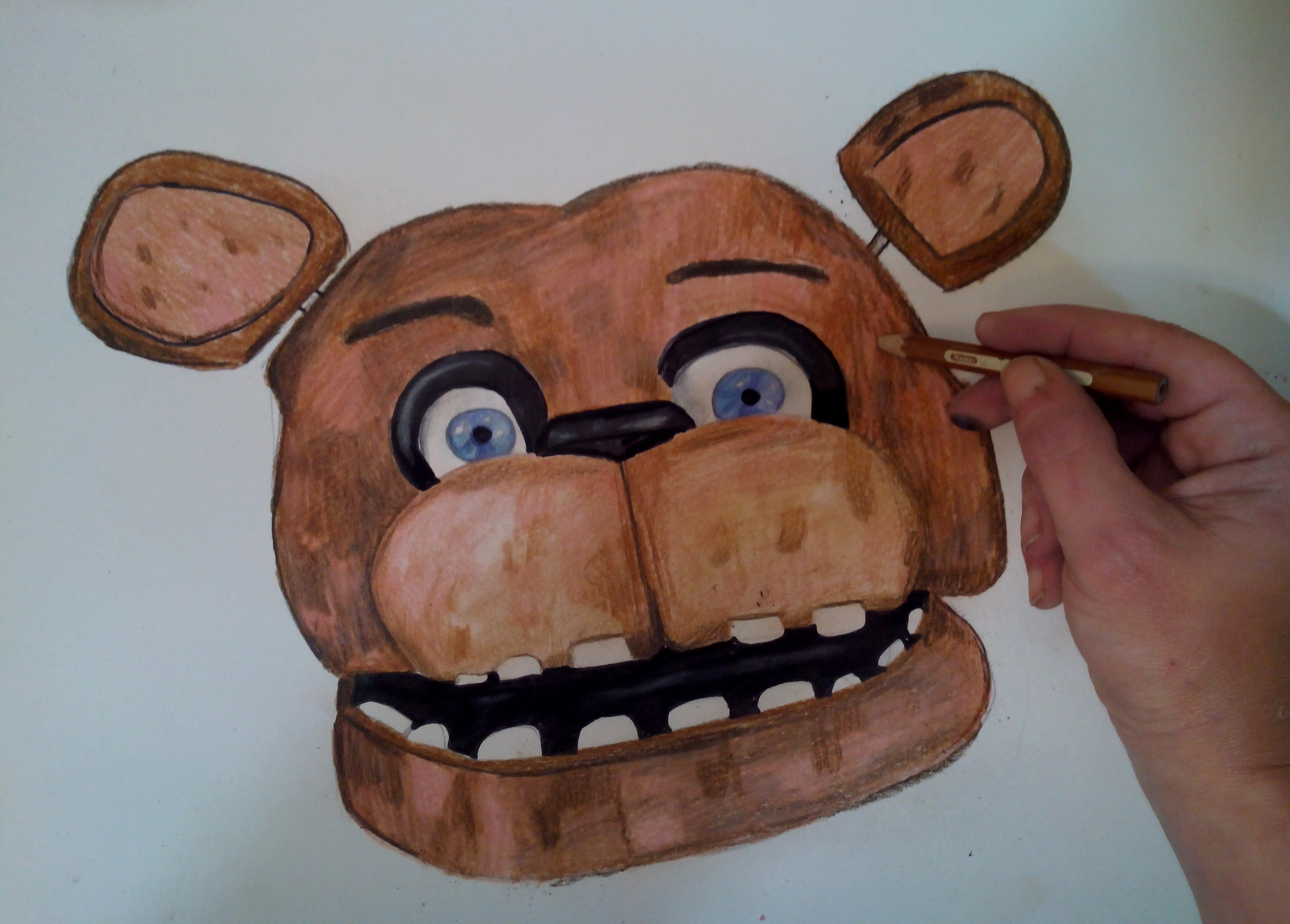 freddy fazbear drawing at getdrawings com free for personal use