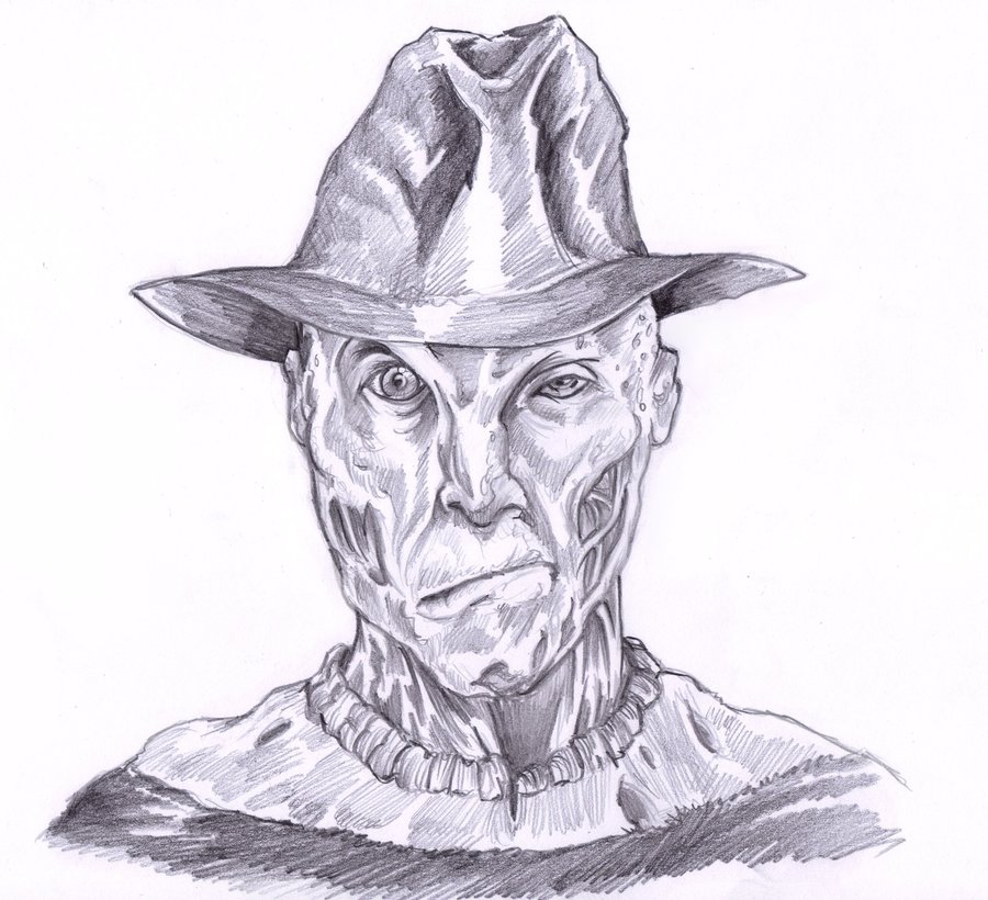 Freddy Krueger Drawing at GetDrawings.com   Free for personal use ...