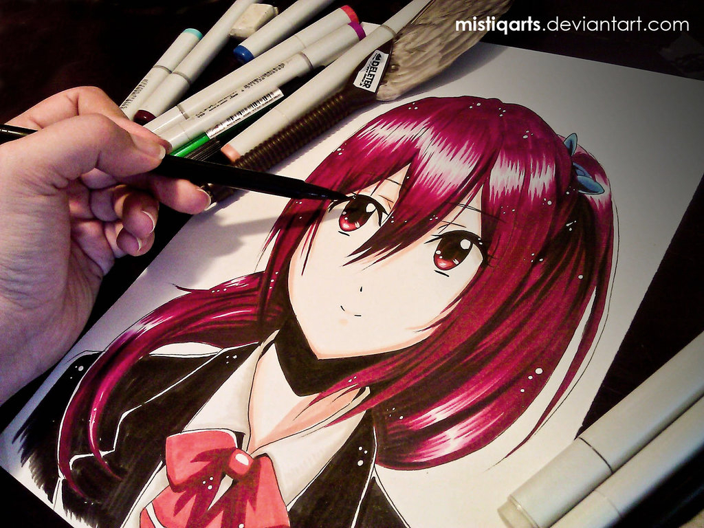 1024x768 Free Anime Drawing Easy Anime Drawing For Beginners Free Download