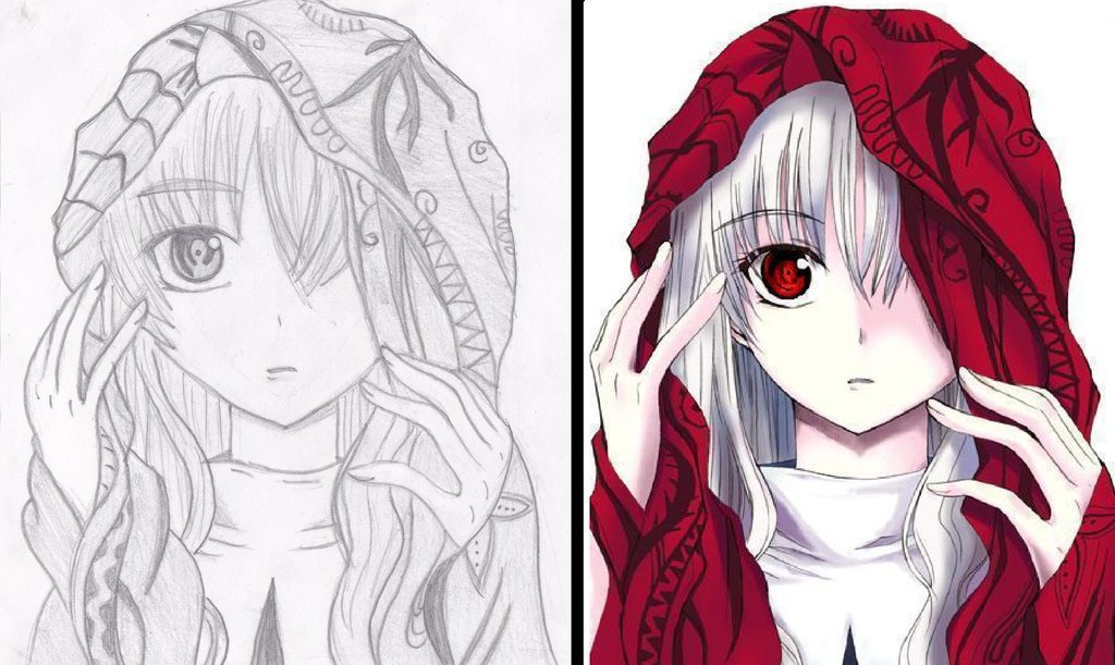 1024x611 Draw Anime Step By Step Drawing Pics