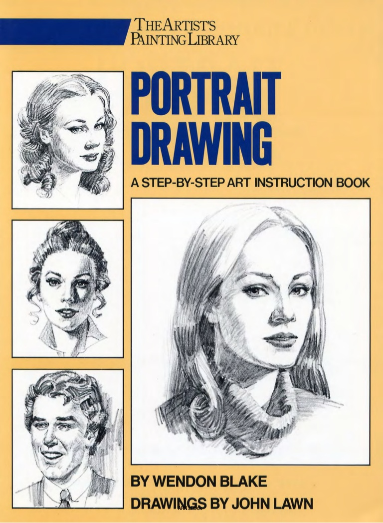 768x1048 Blake Lawn Portrait Drawing A Step By Step Art Instruction Book