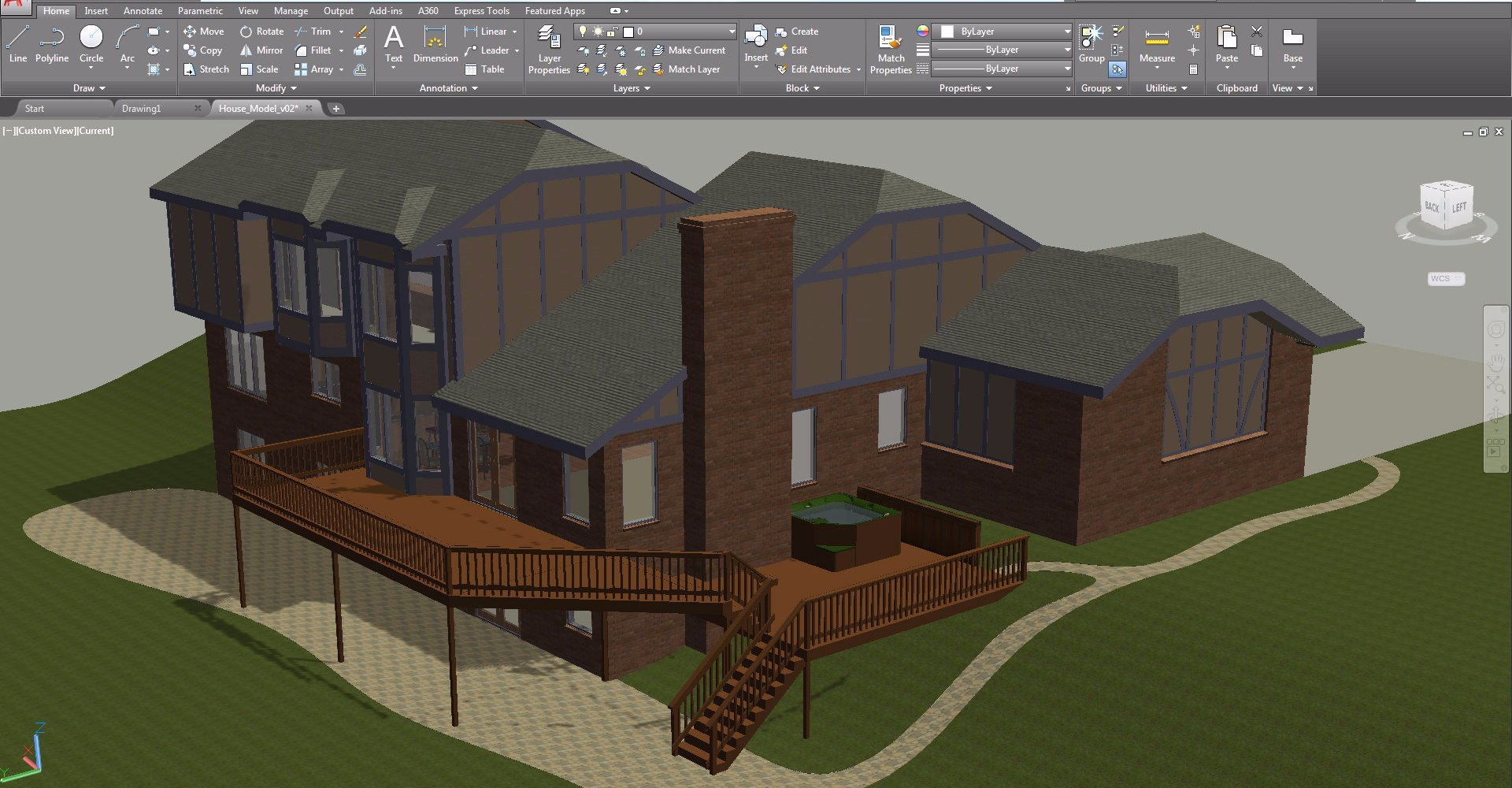 Free building drawing at free for for 2d architectural drawing software free