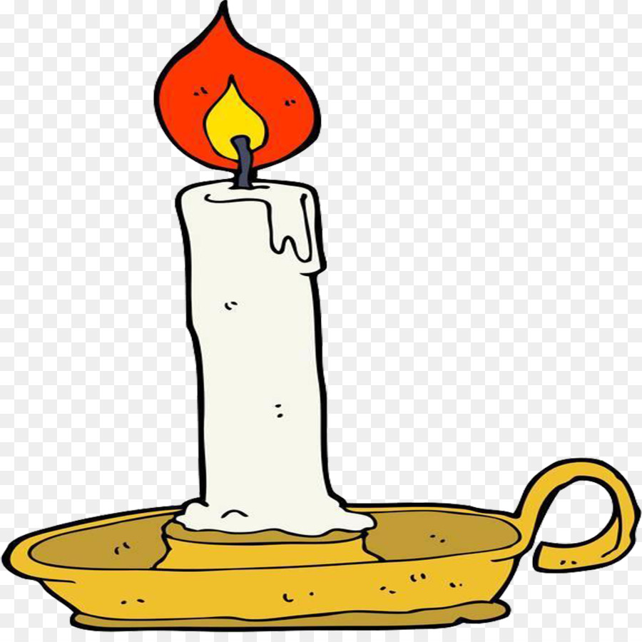 900x900 Candle Drawing Royalty Free Clip Art