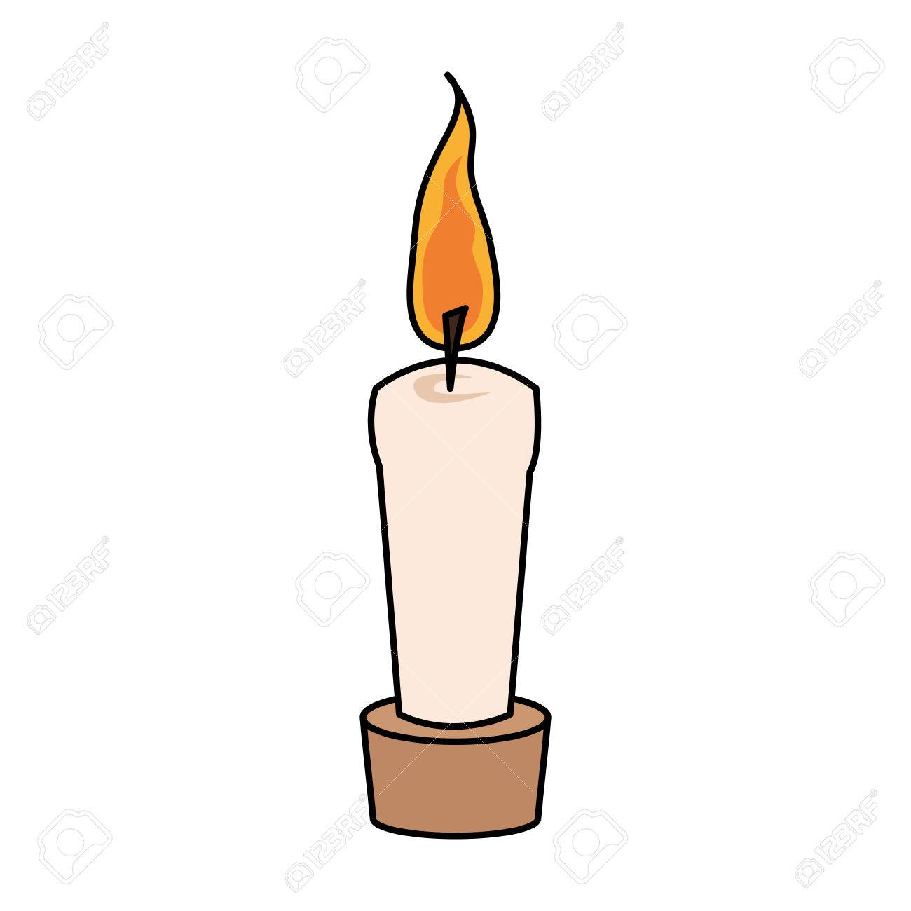 Free Candle Drawing at GetDrawings.com | Free for personal use Free ... for Candle Drawing With Color  70ref