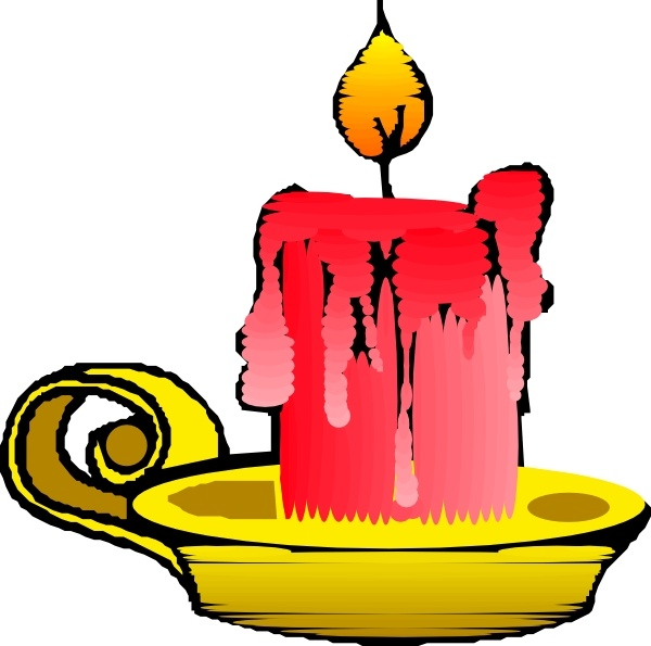 600x595 Red Candle Clip Art Free Vector In Open Office Drawing Svg ( Svg